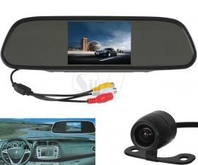 آینه ماشین مانیتوردار به همراه دوربین دنده عقب بی سیم