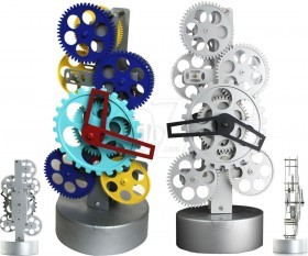 ساعت چرخ دنده ای رومیزی مدل رادار