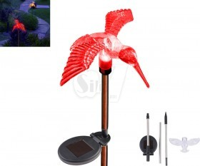 Hummingbird Shape Outdoor Garden Color Changing LED Solar Lights