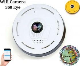 HD 360 degree Fisheye WIFI IP indoor wireless panoramic network camera