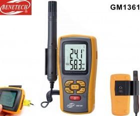 BENETECH GM1361 Portable Digital Humidity & Temperature Meter