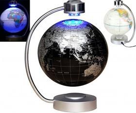 کره زمین معلق در هوا شگفت انگیز مغناطیسی سایز بزرگ با پایه چراغدار