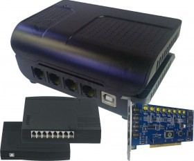 USB or PCI Telephone Recorder and Voice Logger