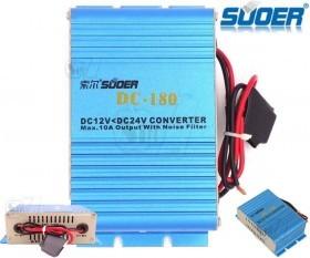 DC 12V to DC 24V Converter Car Power Transformer
