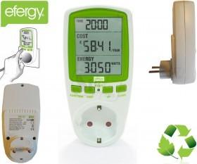دستگاه سنجش میزان مصرف برق لوازم برقی مدل EMS