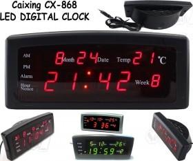 ساعت LED دیجیتالی رومیزی کایزینگ مدل CX-868 دارای دماسنج