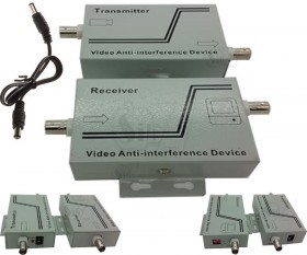 Video UTP Balun CCTV Monitor System Video Anti Interference Jamming and Video Amplifier