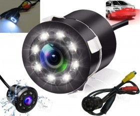 Car Rear View Camera with 8 LED