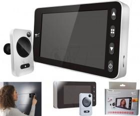 چشمی درب مانیتوردار 4.3 اینچی دیجیتال ادلر مدل 3030 ذخیره عکس و سنسور حرکتی