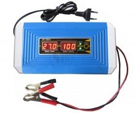 شارژر باطری هوشمند پیشرفته 12 و24 ولت با تشخیص اتوماتیک ولتاژ باطری