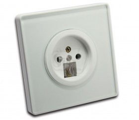 Wall Telephone Plug Socket Outlet