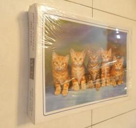 پازل 1000 تکه با طرح گربه های بامزه