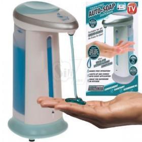 ظرف مایع دستشویی چراغدار با حسگر حرکتی مدل 2163