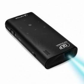 مینی ویدیو پروژکتور جیبی مدل V60  قابل اتصال به همه نوع ورودی