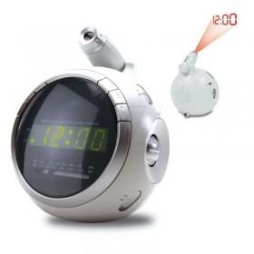 ساعت پروژکتوری دیجیتالی توپی رادیودار سامکس مدل پی100