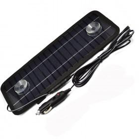 شارژر خورشیدی باطری ماشین 12 ولتی 5ولتی 4.5 واتی سانرژی با خروجی فندکی  و یو اس بی با توان250میلی آمپر