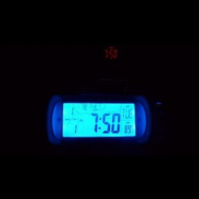 ساعت پروژکتوری دیجیتال رومیزی سنسوردارحساس به صدا