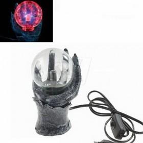 توپ پلاسما رعد و برق رومیزی مدل دست شیطان کد 5