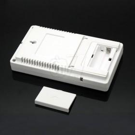 رطوبت سنج و دماسنج دیجیتالی آلارم دار 2 سنسور همزمان مدل 907