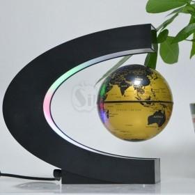 کره زمین معلق مغناطیسی شگفت انگیز چراغدار مدل حرف سی انگلیسی