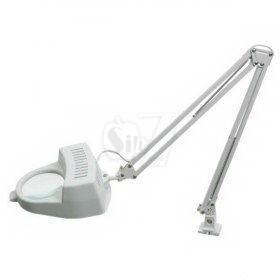 ذره بین مهندسی پایه دار مدل 112 بزرگنمایی 3 برابر، قطر عدسی 9 سانتیمتر و لامپ سرپیچ معمولی
