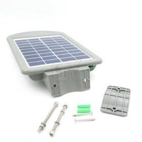 چراغ خورشیدی بزرگ دارای سنسور حرکتی با قابلیت اتصال به میله یا دیوار