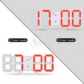 ساعت سگمنتی سه بعدی دیجیتالی قابدار