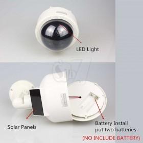 ماکت دوربین اسپیددام با صفحه خورشیدی