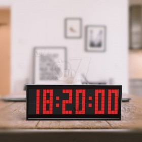 ساعت دیجیتال سگمنتی مدل دات ماتریکس