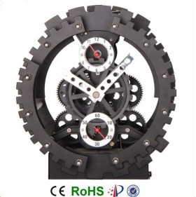 ساعت چرخ دنده ای رومیزی لوکس مدل اسکلتی 40