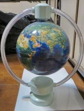 کره زمین معلق مغناطیسی حلقه ای بزرگ