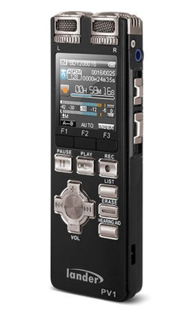 Lander Voice and IC Recorder PV1